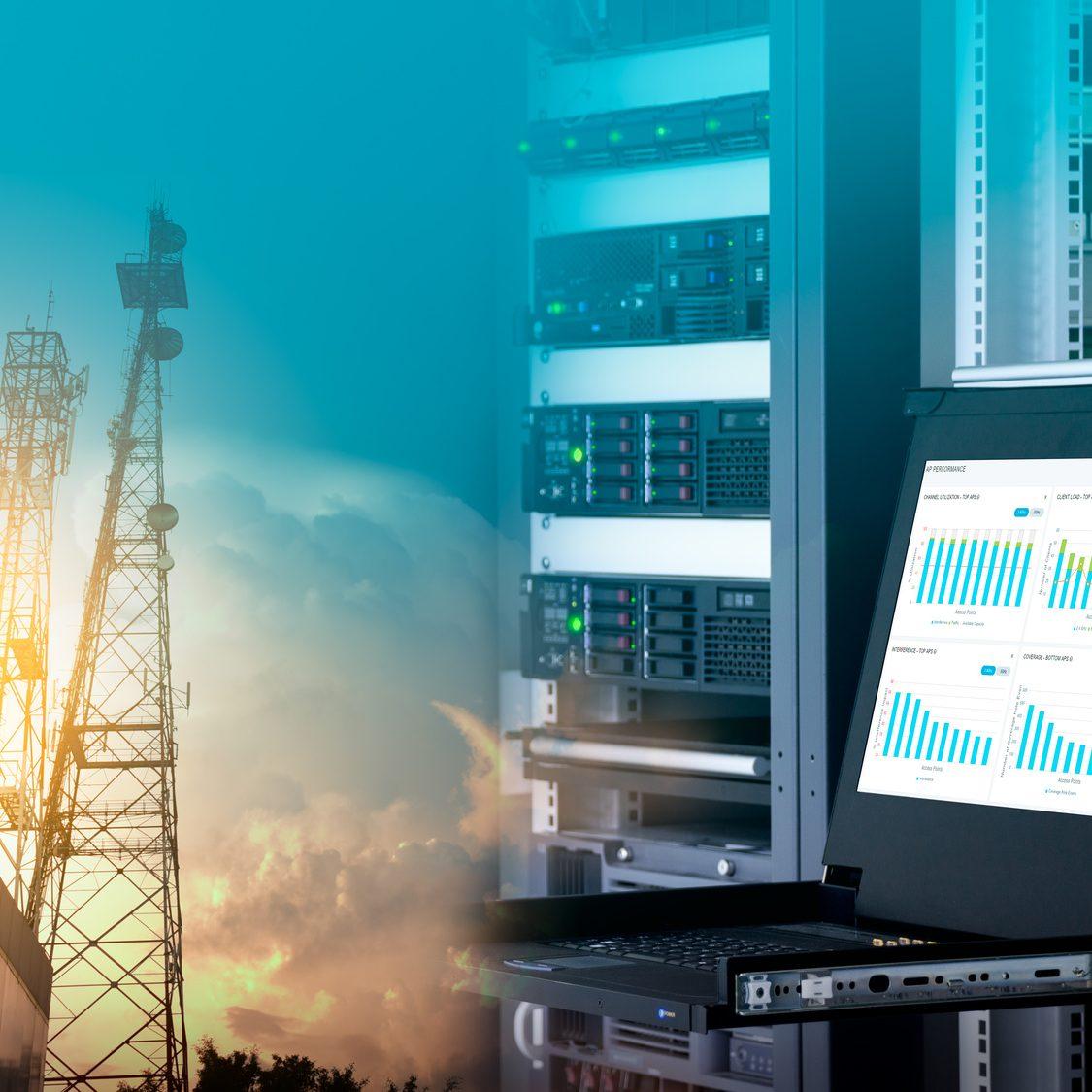 Réseaux de télécommunication, solution informatique